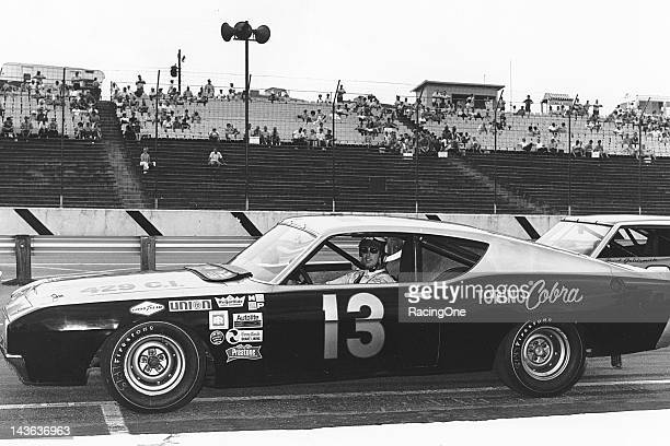 """Charlie Glotzbach drove this Ford Torino Cobra built and owned by Henry """"Smokey"""" Yunick to a fourth place finish in the Dixie 500 NASCAR Cup race at..."""