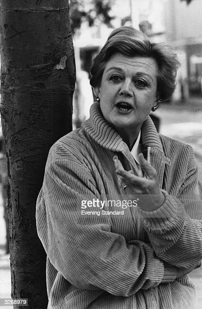 British actress Angela Lansbury