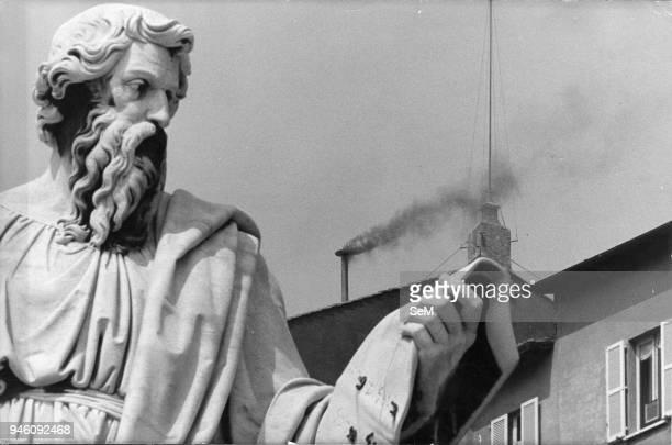 October 1978 conclave Conclave black smoke.