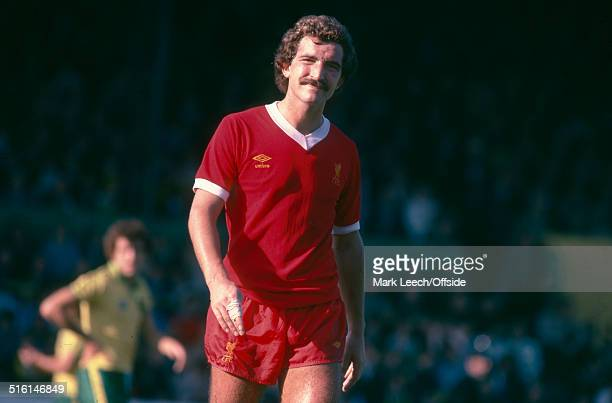 07 October 1978 English Football League Division One Norwich City v Liverpool Graeme Souness of Liverpool