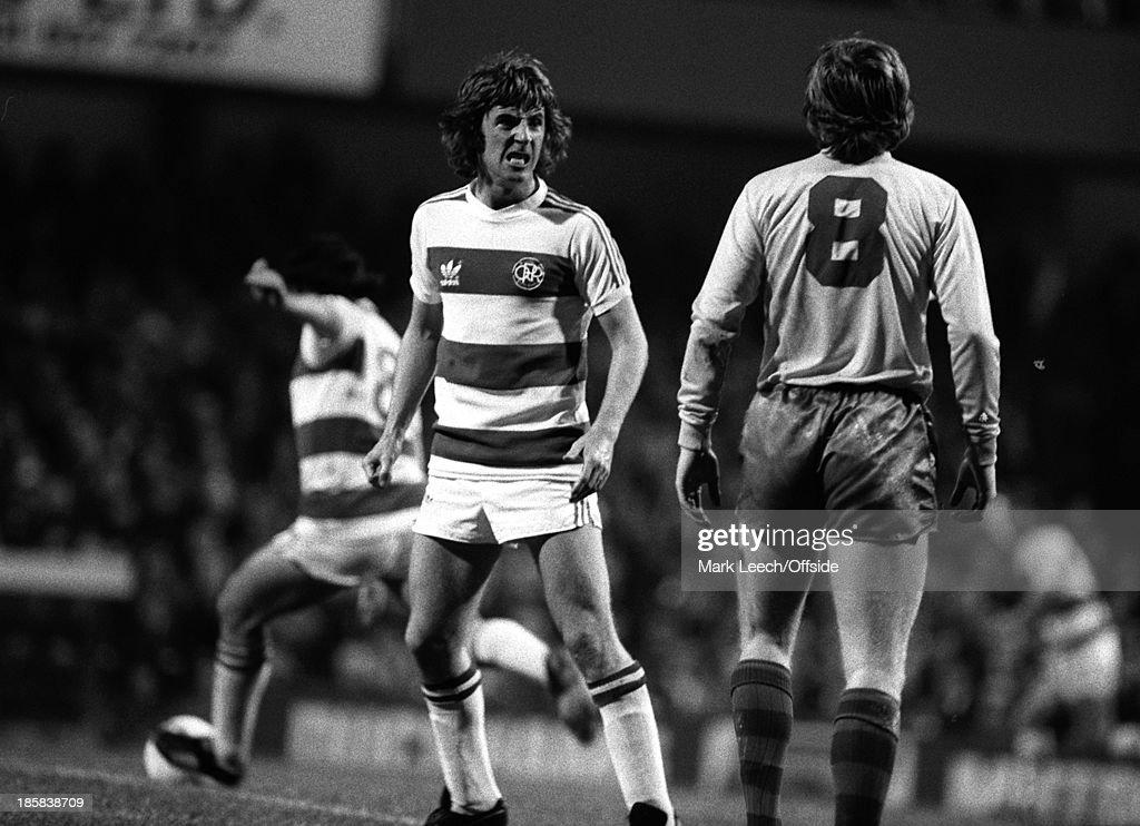 QPR Footballer Stan Bowles 1978 : News Photo