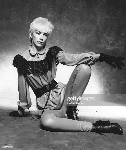Annie Lennox, singer with pop group The Tourists, who went on to form The Eurythmics with co-tourist Dave Stewart.