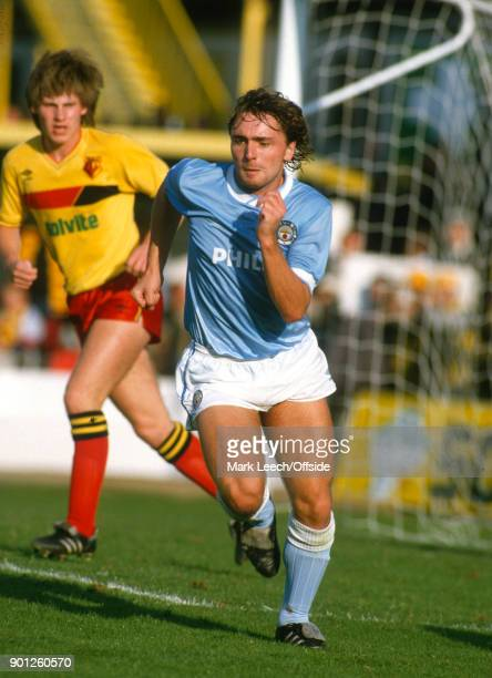 Football League Division One Watford v Manchester City Paul Simpson of City