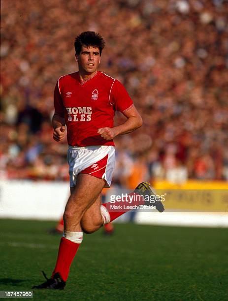 04 October 1986 Football League Division One Nottingham Forest v Manchester United Neil Webb of Nottingham Forest
