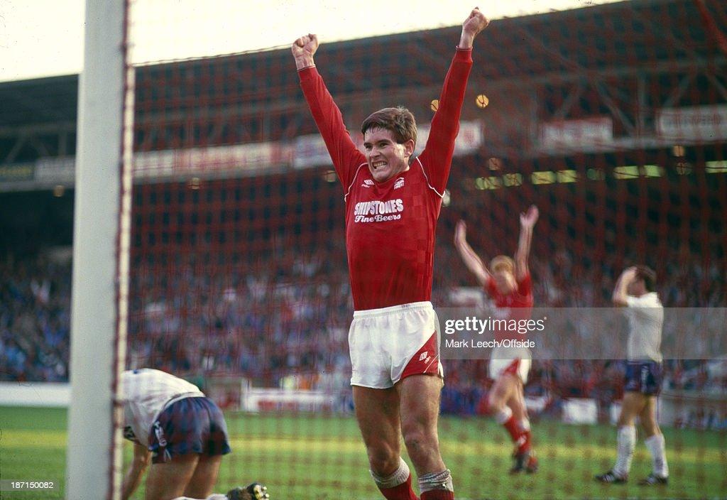 Nottingham Forest v Tottenham 1987 - Football League Division One : News Photo