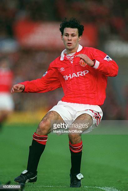 18 October 1992 FA Premier League Football Manchester United v Liverpool Ryan Giggs of United