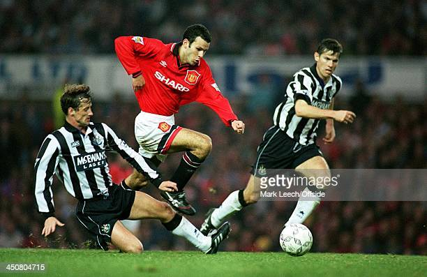 29 October 1994 FA PREMIERSHIP Manchester United v Newcastle United Ryan Giggs