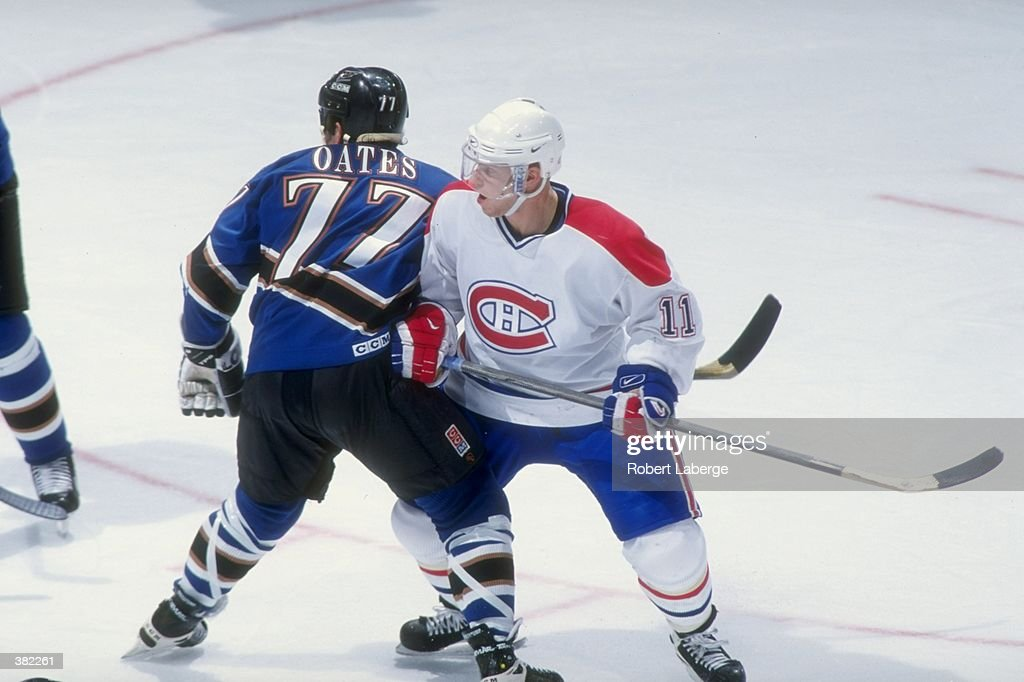 2b6dd4fc3 Saku Koivu of the Montreal Canadiens in action against the ...