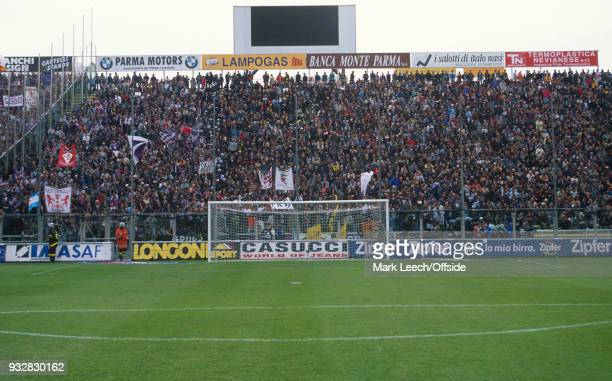 31 October 1998 Parma Serie A Parma v Fiorentina a general view of Stadio Ennio Tardini taken from edge of penalty area
