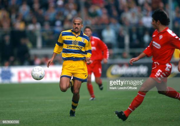 31 October 1998 Parma Serie A Parma v Fiorentina Juan Sebastian Veron of Parma