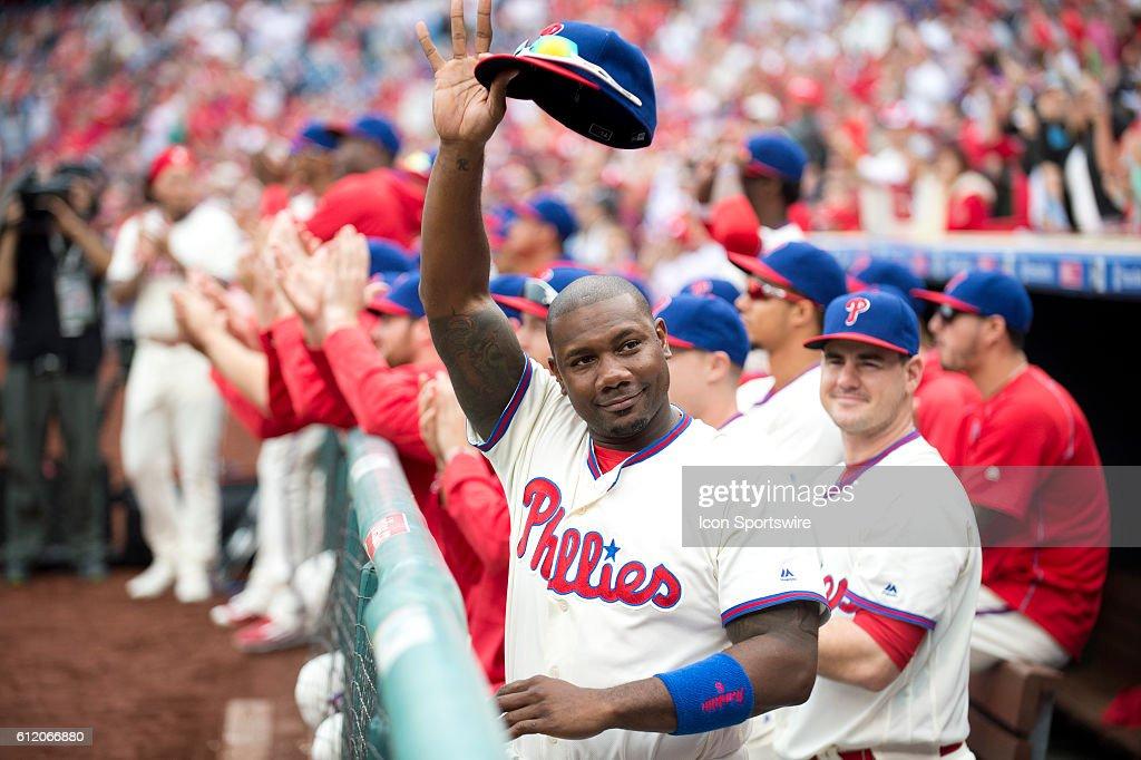 MLB: OCT 02 Mets at Phillies : News Photo