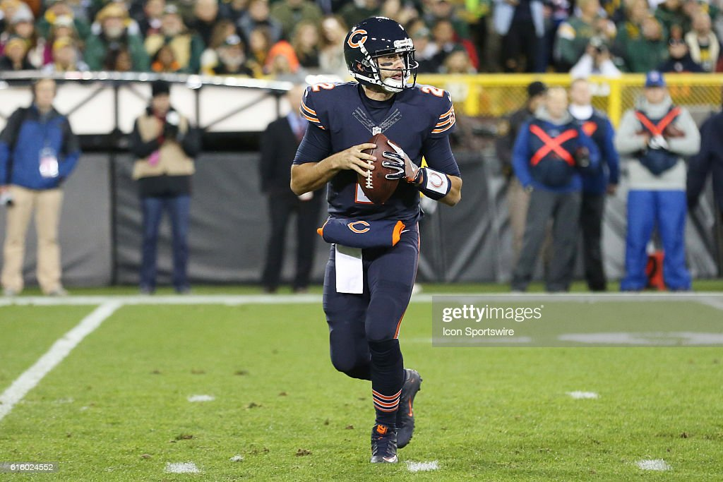 NFL: OCT 20 Bears at Packers : News Photo