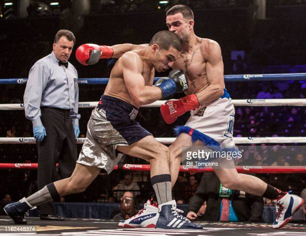 October 2000]: MANDATORY CREDIT Bill Tompkins/Getty Images Mathew Gonzalez defeats Alexander Sera by Unanimous Decision in their Welterweight fight...