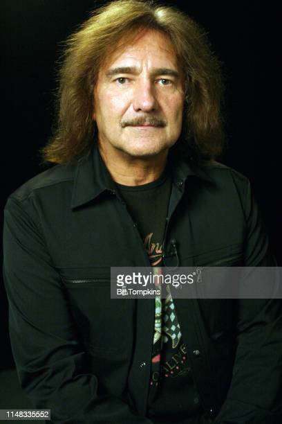 Geezer Butler bass player for the band Black Sabbath photographed on October 2005 in New York City