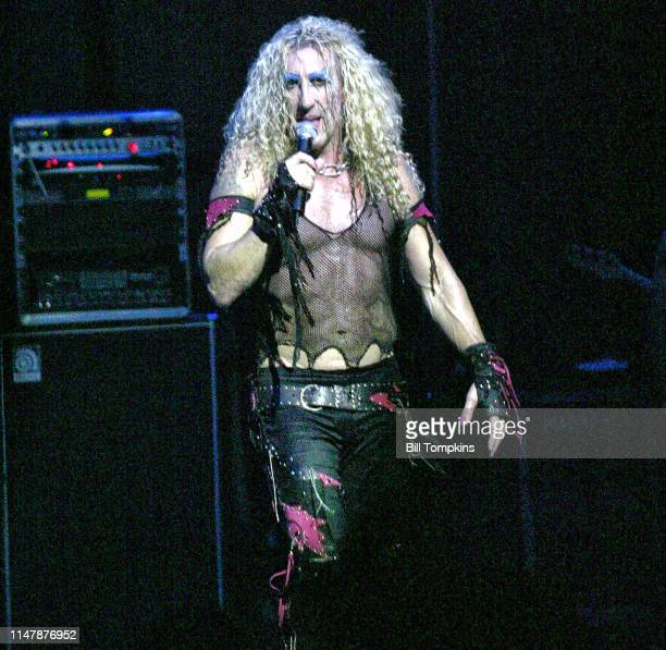 Dee Snider of Twisted Sister performs on October 2006 in New York City