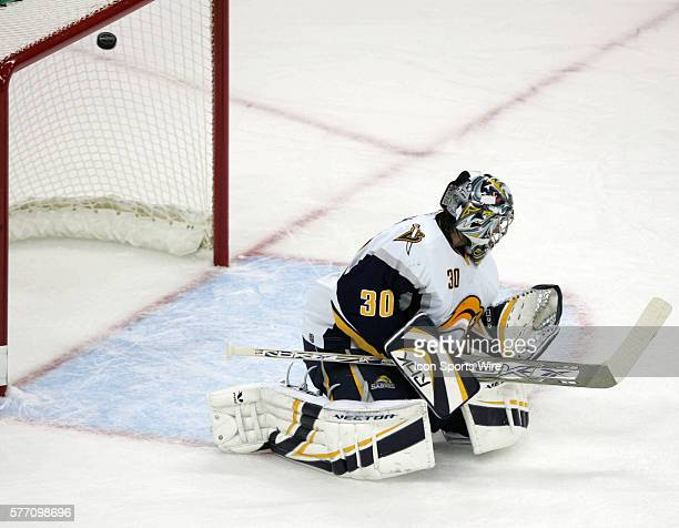 First period shot by Eric Staal eludes Buffalo goaltender Ryan Miller to tie the game 11 The Buffalo Sabres defeated the Carolina Hurricanes 32...