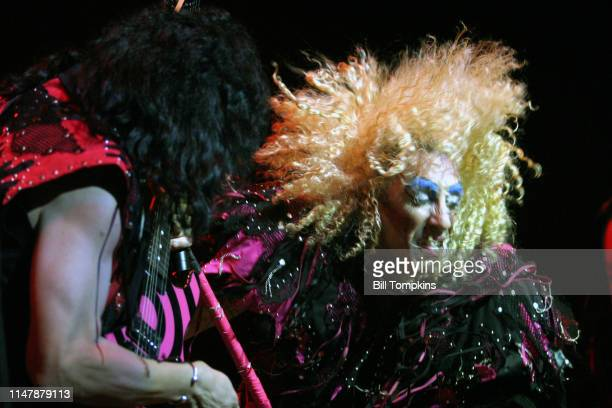 JJ French and Dee Snider of Twisted Sister perform on October 2006 in New York City
