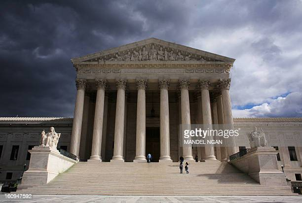 October 2006 photo shows the US Supreme Court in Washington DC