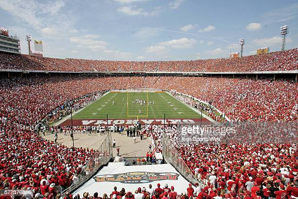 October 2008 - Overall view during the Texas 45-35 win over Oklahoma at the Red River Rivalry game played at the Cotton Bowl Stadium in Dallas, Texas.