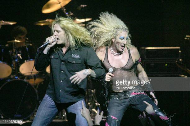 Sebastian Bach and Dee Snider photographed October 2008 in New York City