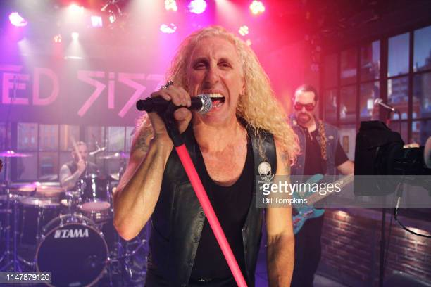 Dee Snider of Twisted Sister performing on Television program October 2009 in New York City