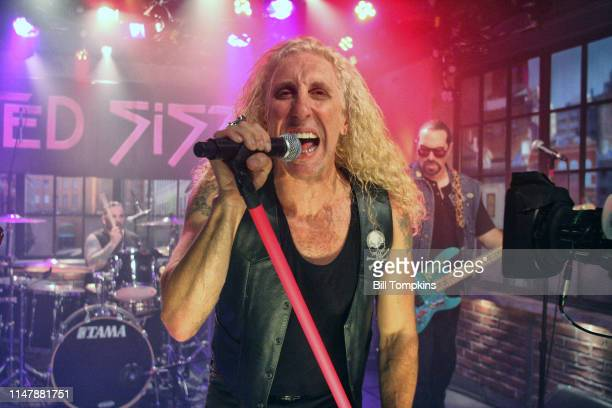 Twisted Sister performing on Television program October 2009 in New York City