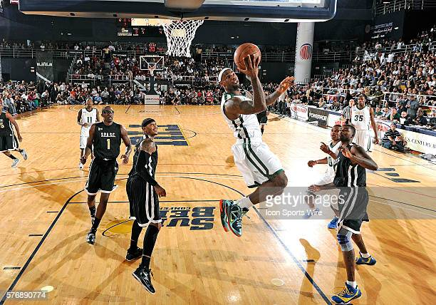 Player LeBron James shoots at the South Florida All Star Classic held at Florida International University's U.S. Century Bank Arena, Miami, Florida.