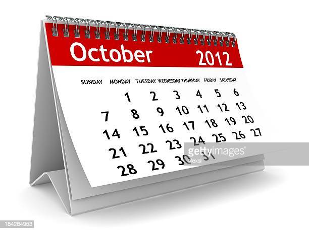 october 2012 calendar - united_states_house_of_representatives_elections_in_florida,_2012 stock pictures, royalty-free photos & images