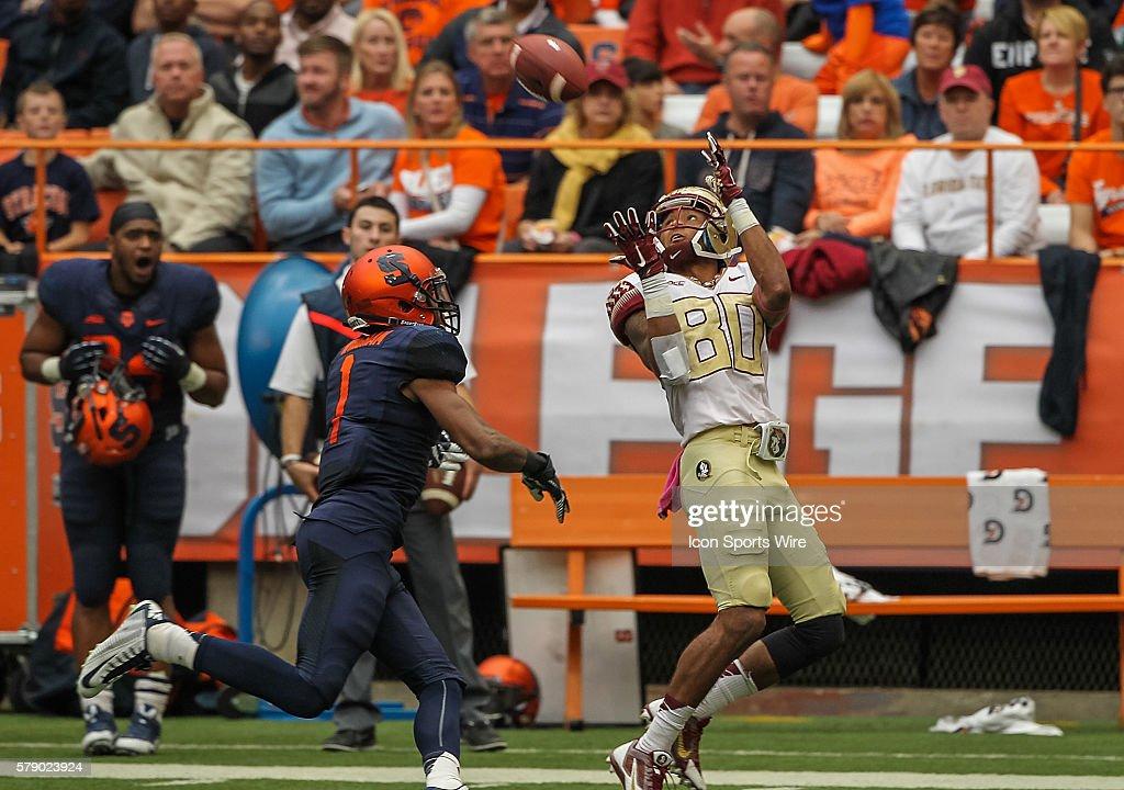 NCAA FOOTBALL: OCT 11 Florida State at Syracuse : News Photo