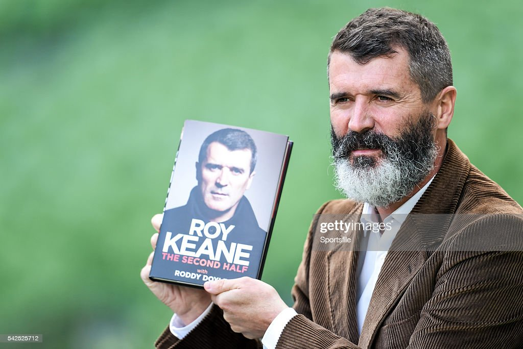 Launch of 'The Second Half' by Roy Keane : News Photo