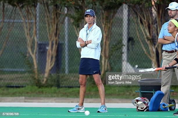 UNC head coach Karen Shelton The Duke University Blue Devils hosted the University of North Carolina Tar Heels at Jack Katz Stadium in Durham North...