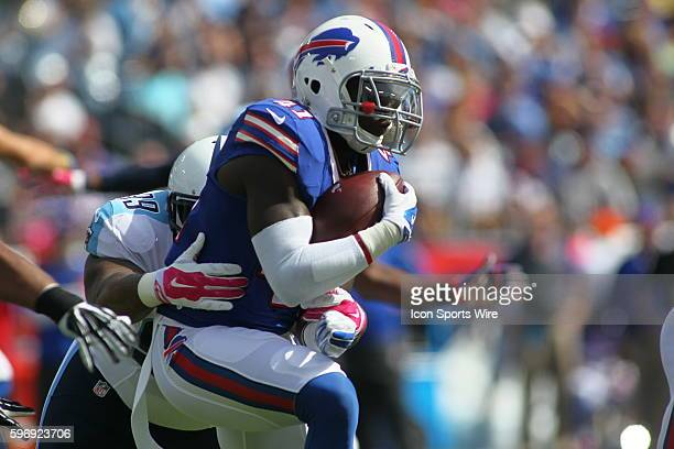 Buffalo Bills Running Back Cierre Wood during the NFL football game between the Buffalo Bills and the Tennessee Titans The Bills defeated the Titans...