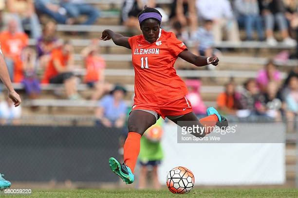 Clemson's Catrina Atanda The University of North Carolina Tar Heels hosted the Clemson University Tigers at Fetzer Field in Chapel Hill NC in a 2015...