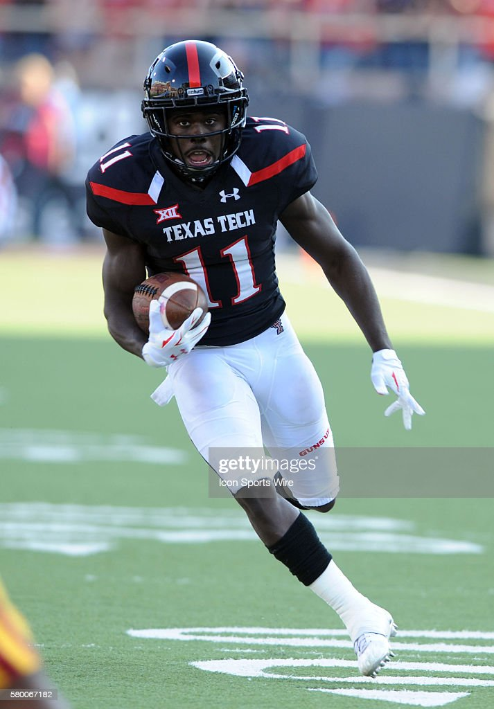 Texas Tech back Jakeem Grant during 66 - 31 win over Iowa