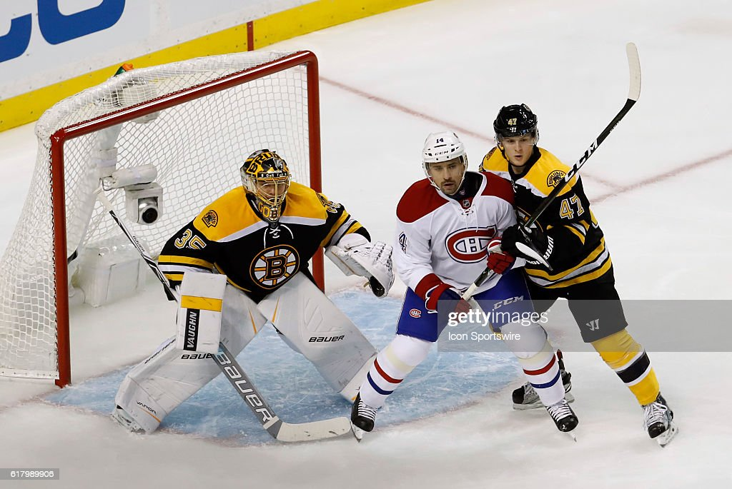 NHL: OCT 22 Canadiens at Bruins : News Photo