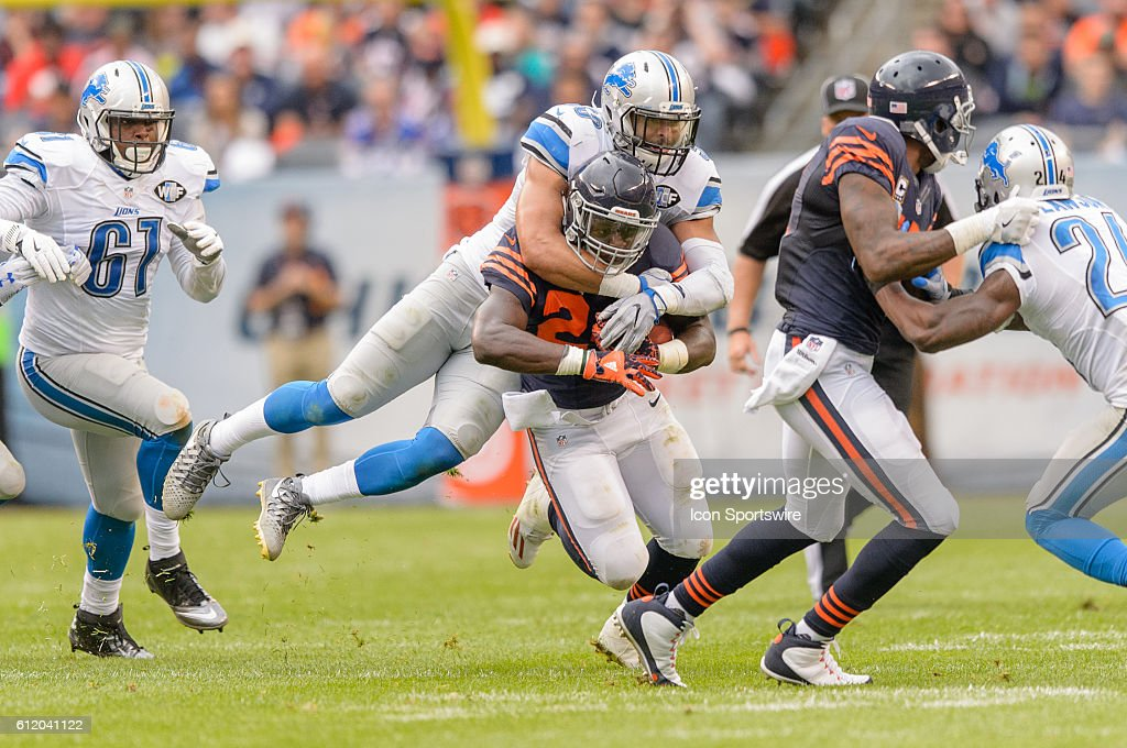 NFL: OCT 02 Lions at Bears : ニュース写真