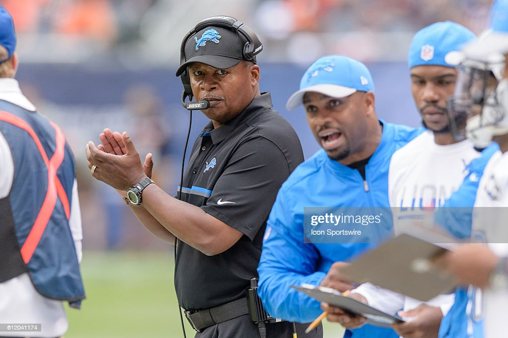 NFL: OCT 02 Lions at Bears : News Photo