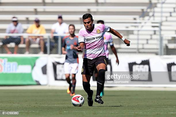 Fort Lauderdale's Junior Sandoval The Carolina RailHawks hosted the Fort Lauderdale Strikers at WakeMed Soccer Park in Cary North Carolina in a 2016...