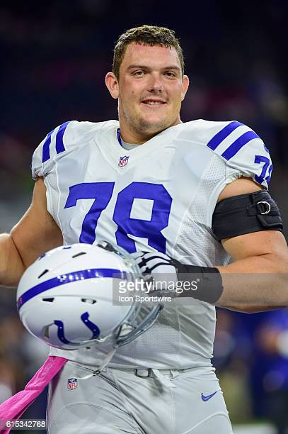 Indianapolis Colts Center Ryan Kelly during the NFL game between the Indianapolis Colts and Houston Texans at NRG Stadium, Houston, Texas.
