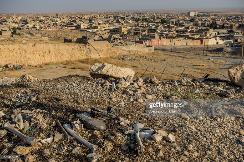 The Town of Sinjar,Iraq : Nachrichtenfoto
