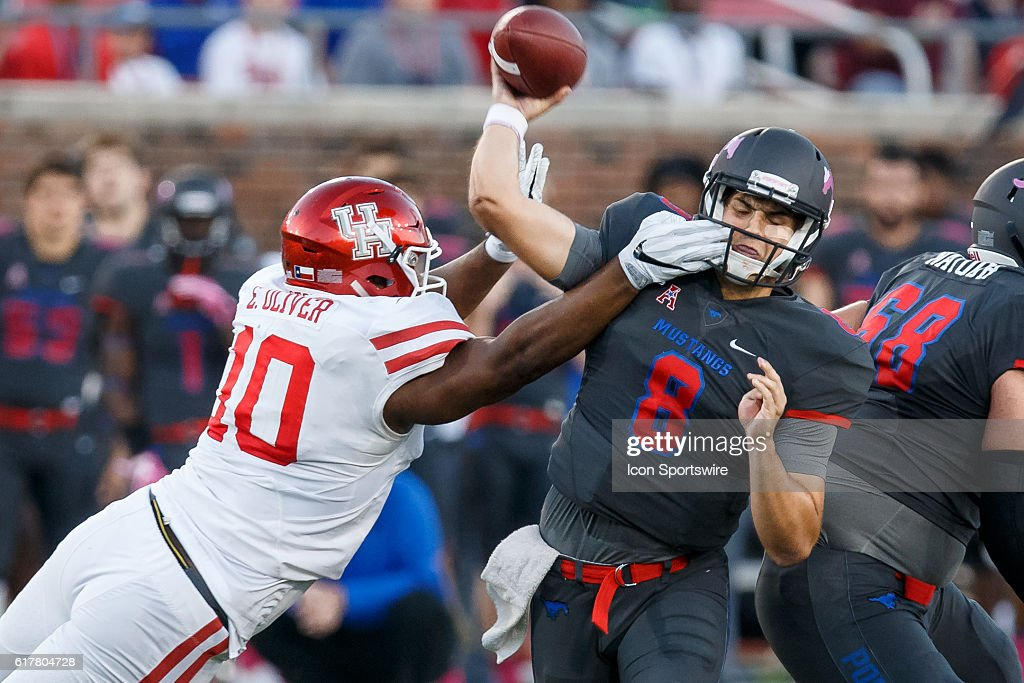 NCAA FOOTBALL: OCT 22 Houston at SMU : News Photo