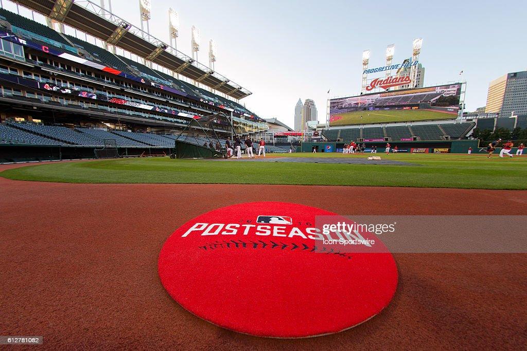 MLB: OCT 04 Indians Workout : News Photo