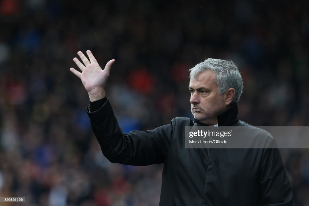 Huddersfield Town v Manchester United: United manager Jose Mourinho.