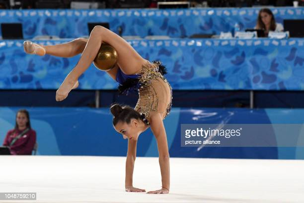 October 2018, Argentina, Buenos Aires: Olympia: III Olympic Summer Youth Games. Rotaermel Lilly from Germany takes part in the individual competition...