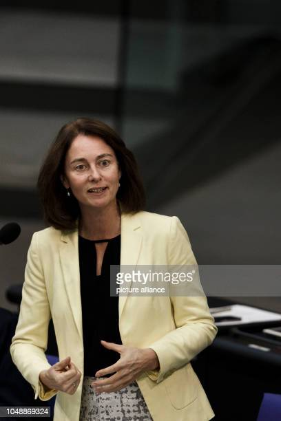 October 2018, Berlin: 10 October 2018, Germany, Berlin: Katarina Barley , Federal Minister of Justice and Consumer Protection, speaks at the 54th...