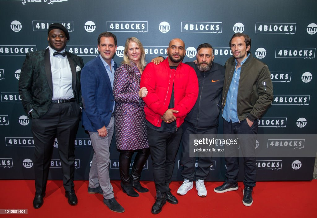 Premiere of television series 4 Blocks : News Photo