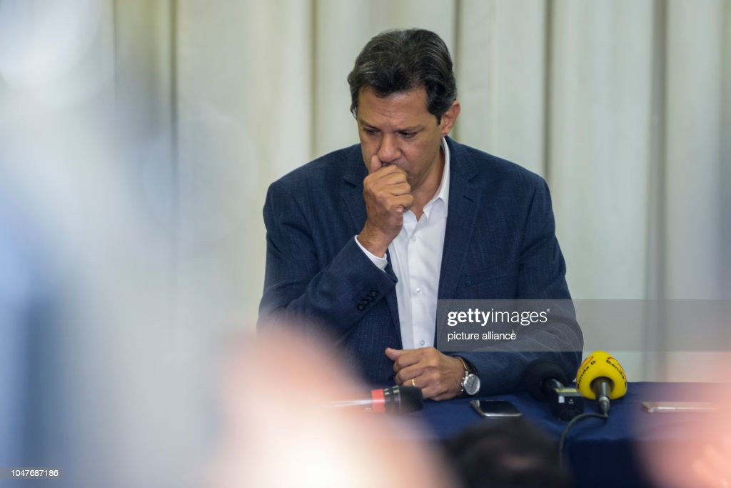 After the first round of voting in Brazil : News Photo