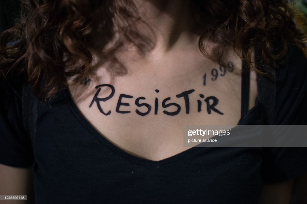 After the election in Brazil - Protest against Bolsonaro : News Photo