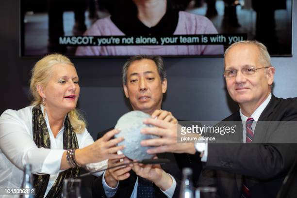 Pascale Ehrenfreund Chairman of the Executive Board of the German Aerospace Center Hiroshi Yamakawa President of Japan Aerospace Exploration Agency...