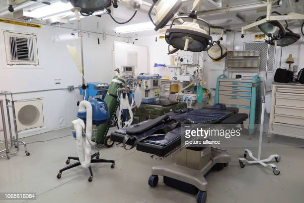 An operating room in a medical facility at the US detention facility The infamous camp has now existed for almost 17 years 40 inmates are still being...